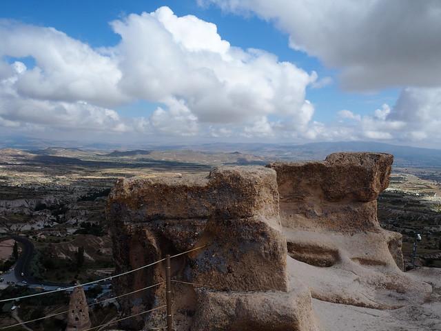 P6213885 トルコ カッパドキア Cappadocia ウチヒサール城 ひめごと