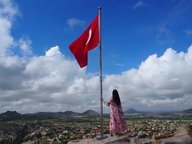 P6213894 トルコ カッパドキア Cappadocia ウチヒサール城 ひめごと