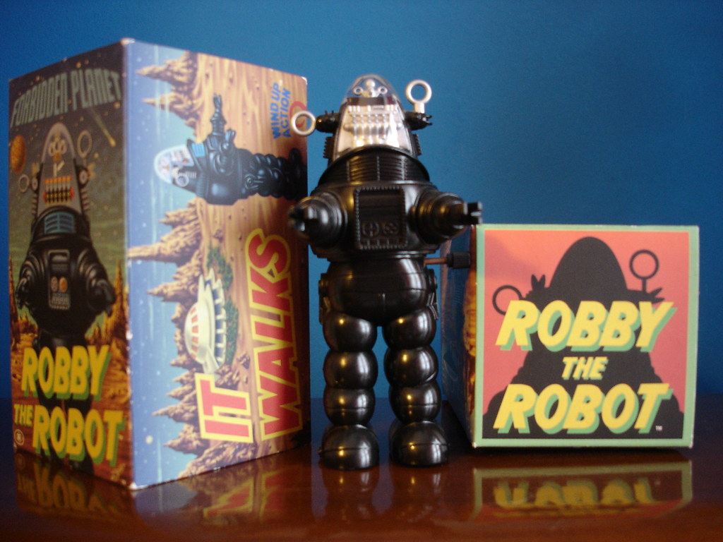 Robby the Robot. Japan