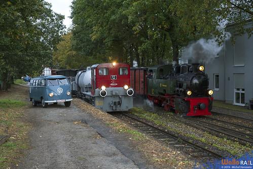 V11 + 101 . Selfkantbahn . Birgden . 28.09.19.