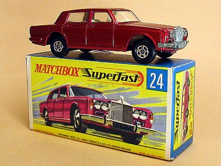 O meu primeiro Rolls-Royce (Matchbox «Superfast» 24, 197…)