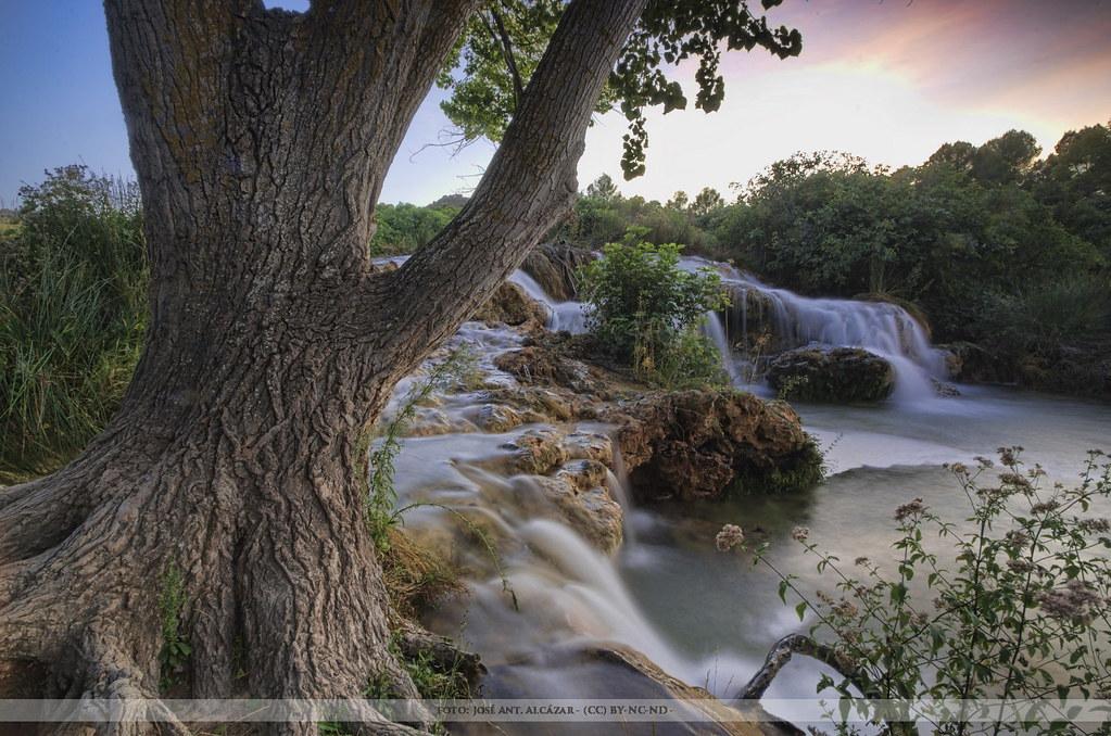 Cascada en las Laguas de Ruidera