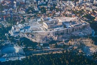 Luftaufnahme Akropolis Athen