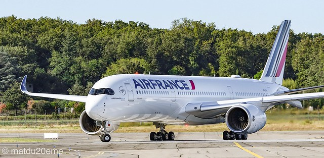 First Airbus A350-900 (Toulouse) / Air France