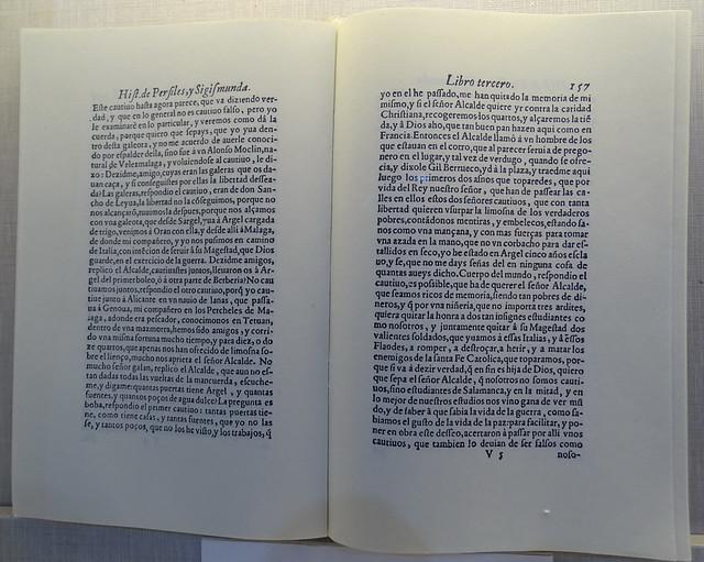 libro de Miguel de Cervantes Casa Cervantes Velez Malaga Málaga 02