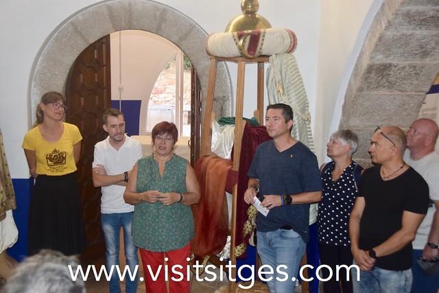 Exposició DEL 40è aniversari dels Gegants Moros de Sitges