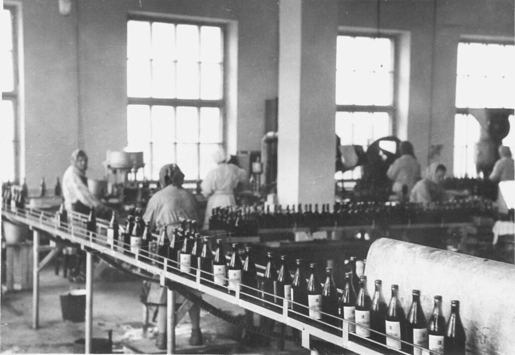 3 ВВЗ. Цех розлива плодовоягодных вин.1962г