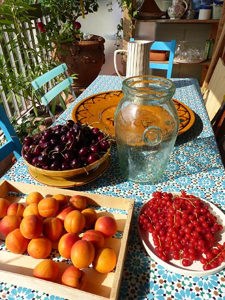 fruits d'été