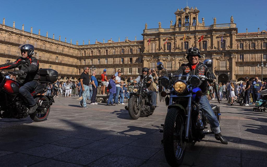 concentración de motos plaza mayor (40 de 40)