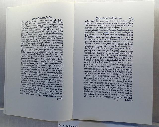libro de Miguel de Cervantes Casa Cervantes Velez Malaga Málaga 01