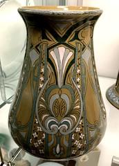 1911 Emerald Deldare Ware Vase at Kirkland
