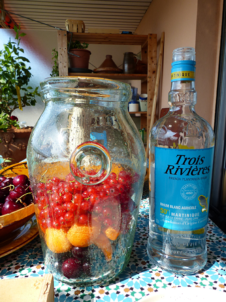 fruits et rhum