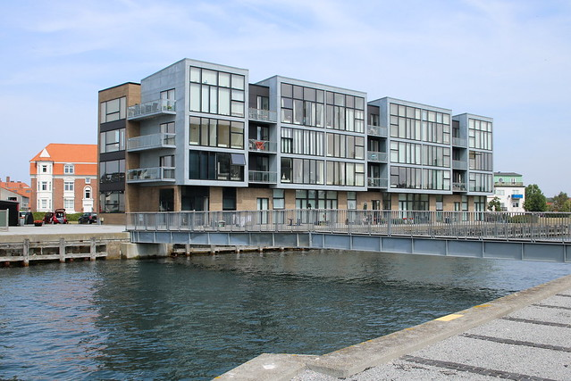 Korsør: Neue Wohnungen am ehemaligen Fährhafen