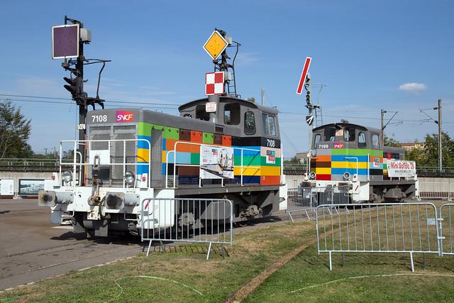 SNCF Y 7108 + Y 7199 - Cité du Train, Mulhouse