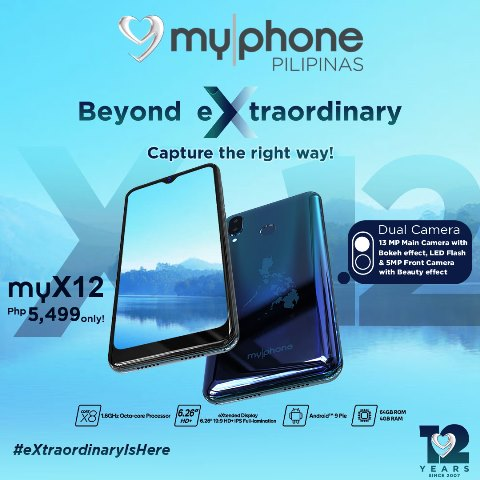 MyPhone myX12 Highlight-Camera-_-Display