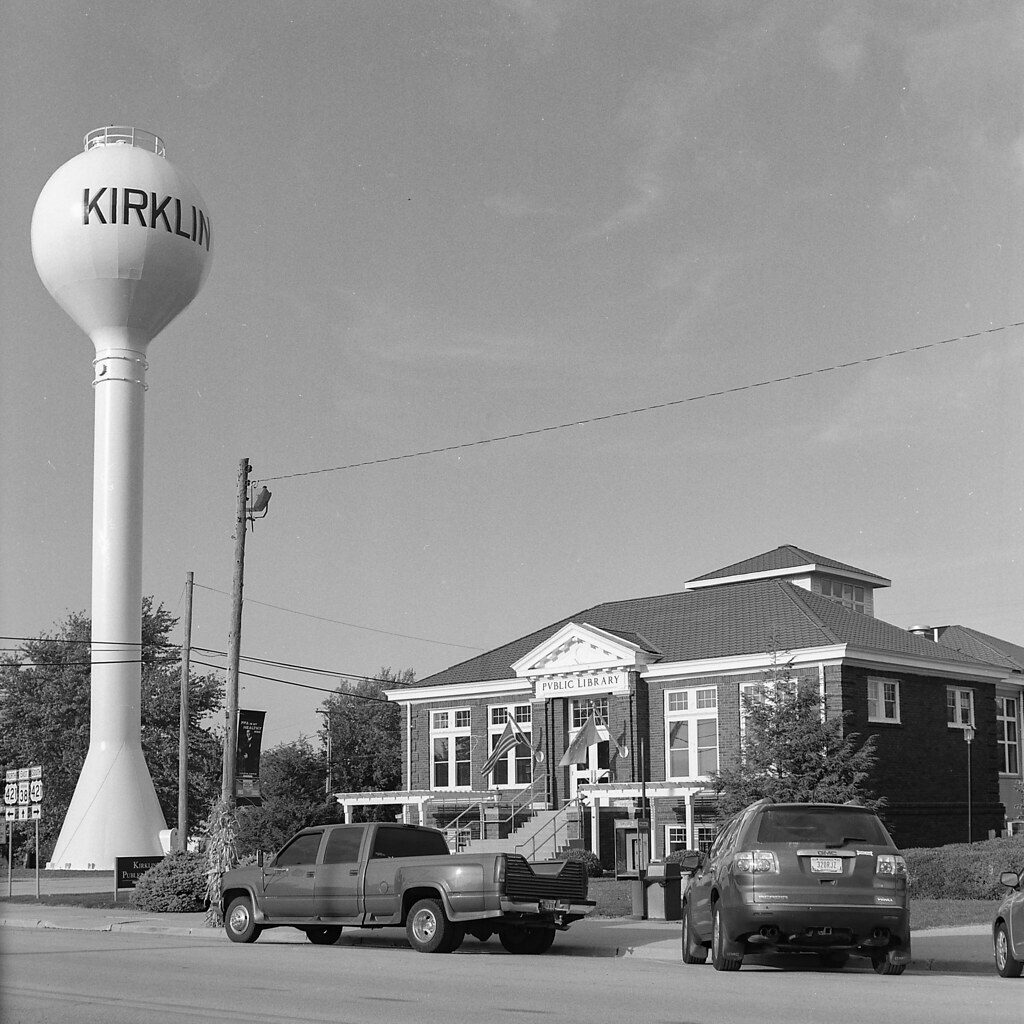 Kirklin and its Carnegie library