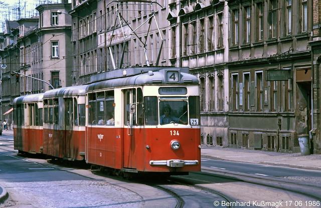 Europa, Deutschland, Sachsen, Zwickau, Leipziger Straße