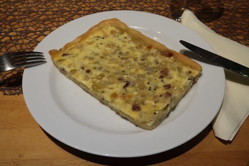 Zwiebelkuchen (mein 2. Stück)