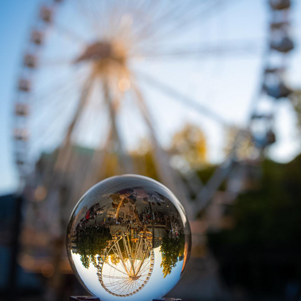 Lens Wheel Ball