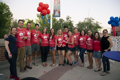 Returning alumni participated in a dinner, brunch, tailgate and tours.