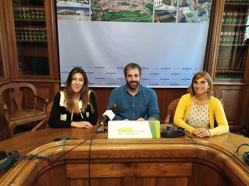 Concejal y Concejalas de EH Bildu en el Ayuntamiento de Irun