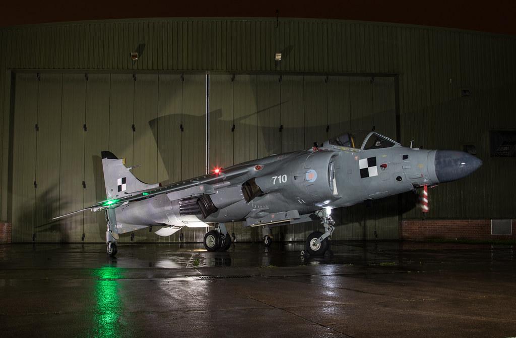British Aerospace Sea Harrier FA2 - ZA195