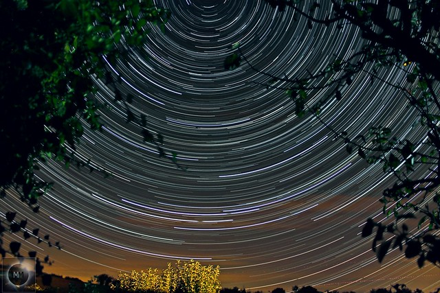2 Hour 30 Minute Star Trails 28/09/19
