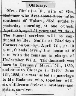 2019-09-29. Bodamer, C.F., Gazette, 4-5-1901