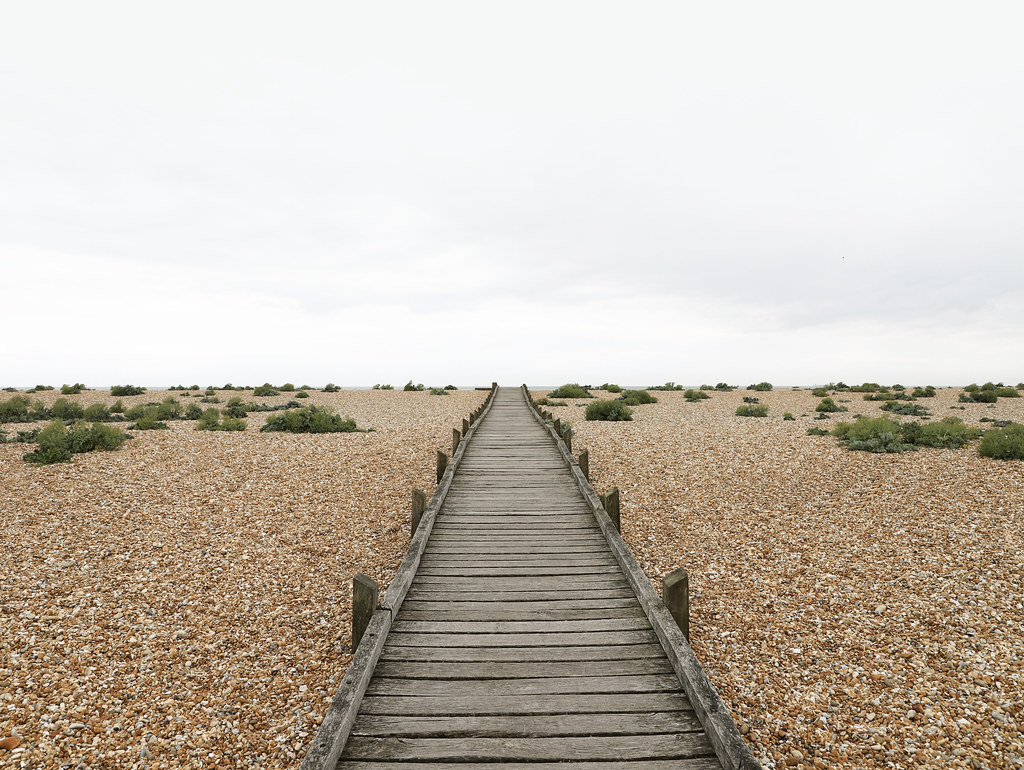 Boardwalk at Dungeness