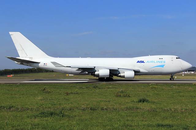 ASL Airlines Belgium  Boeing 747-4B5(ER/F) OE-IFD
