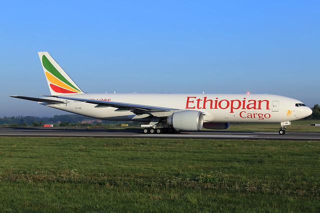 Ethiopian Cargo  Boeing 777-F60 ET-AVQ
