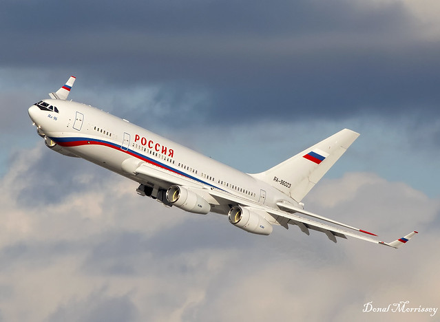 Rossiya - Special Flight Squadron (Russian Government) IL-96 RA-96023