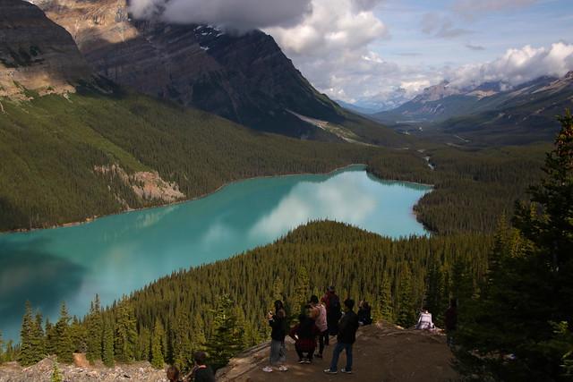 Peyto Lake, Banff National Park (Canada)