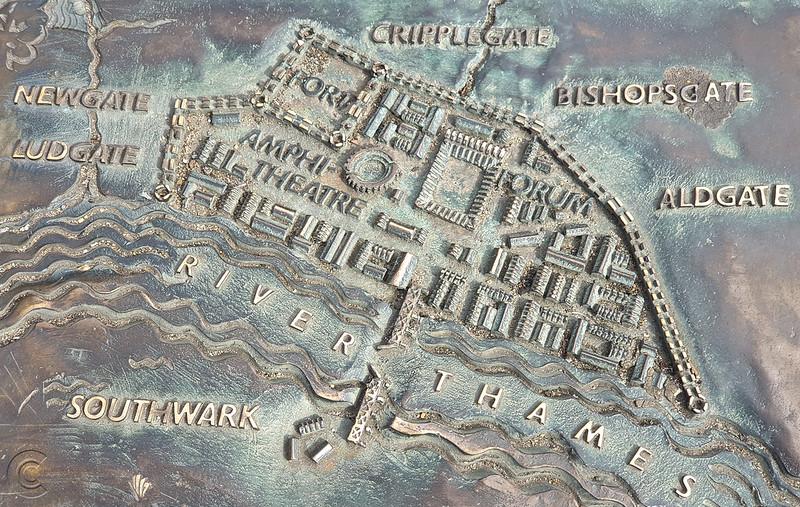 Map of Londinium