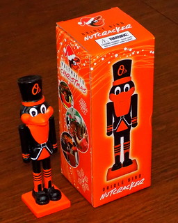 2019 Oriole Bird Nutcracker, A Game Giveaway At OPACY On  June 25th For The Game With The Padres, Part Of The Halfway To Christmas Celebration At OPACY, Made In China