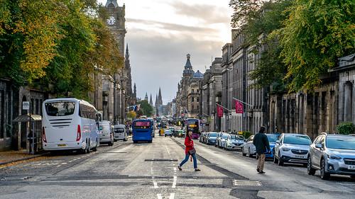 Edinburgh sights: Princes street (2/2)