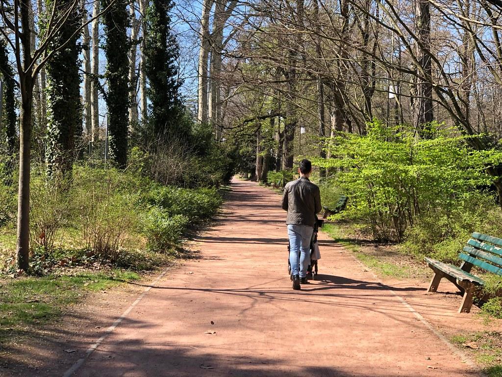 Es maravilloso disfrutar de espacios verdes en las grandes ciudades