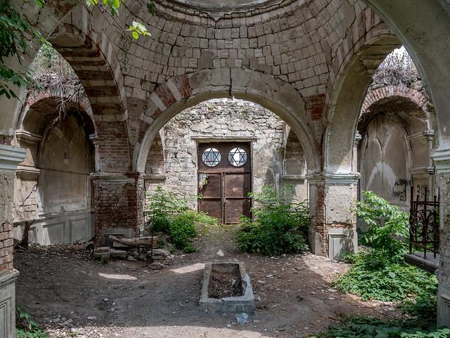 Abandoned Synagogue, Chisinau