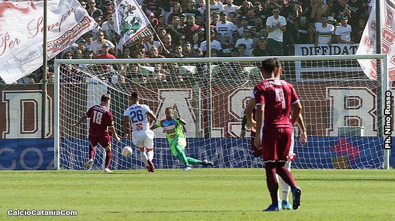 Il gol di Corazza che decise il match di andata