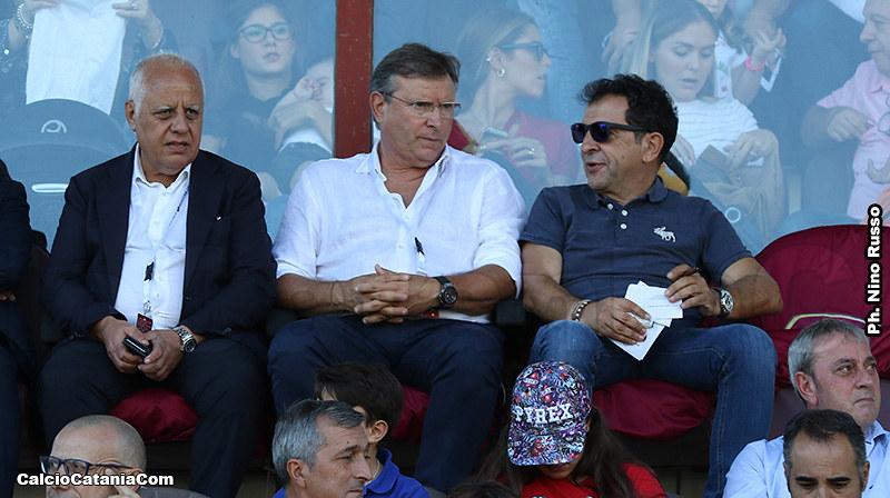 Nino Pulvirenti e Pietro Lo Monaco al