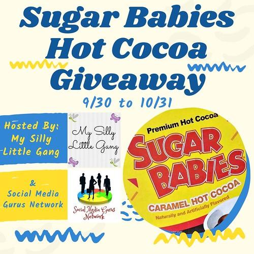 Sugar Babies Cocoa Giveaway ~ Ends 10/2 #MySillyLittleGang @SMGurusNetwork @BrooklynBeans1