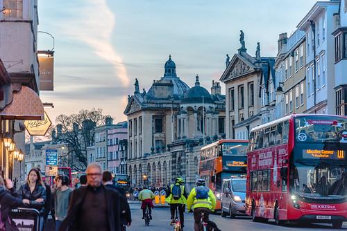 oxford street streetscapes twilight 交天 教堂 牛津 牛津大学