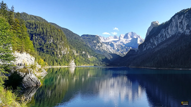 Lake Gosau Dachstein Salzkammergut Austria (c) 2019 Берни Эггерян :: rumoto images 143917