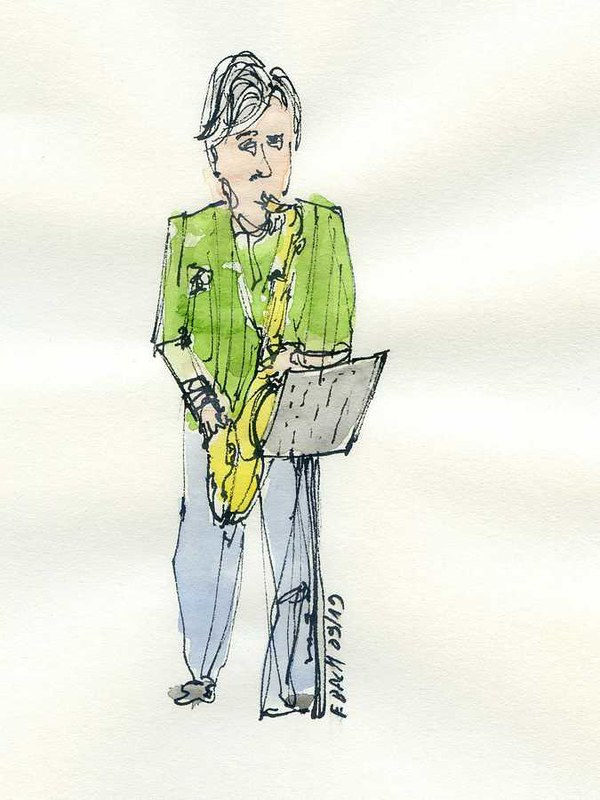 Saxophoniste / Saxophonist