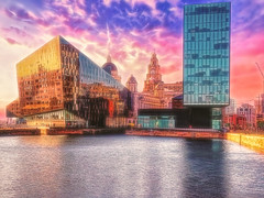 """Old and New"" - Albert Dock, Liverpool"