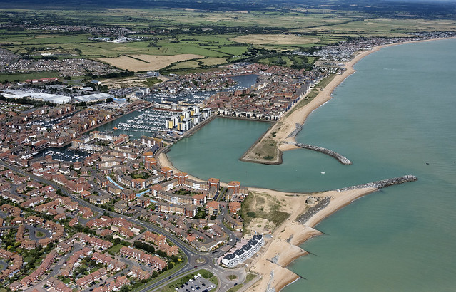 Sovereign Harbour Marina - Eastbourne aerial image