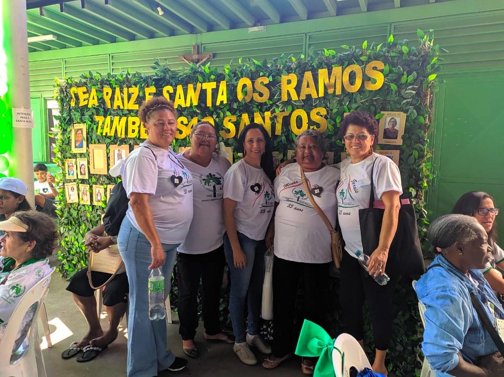 Retiro Estadual pelos 35 anos da Pastoral da Criança no Estado de Minas Gerais.