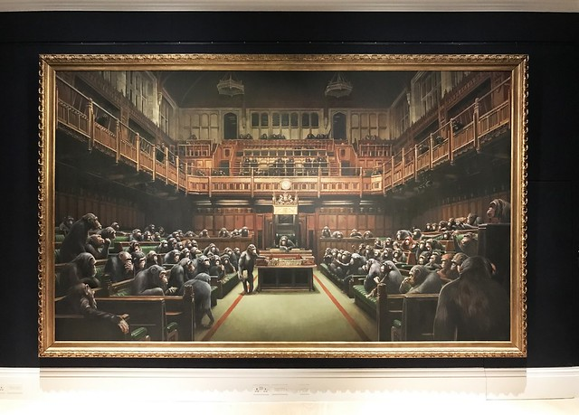 Banksy Devolved Parliament (photo 2019)