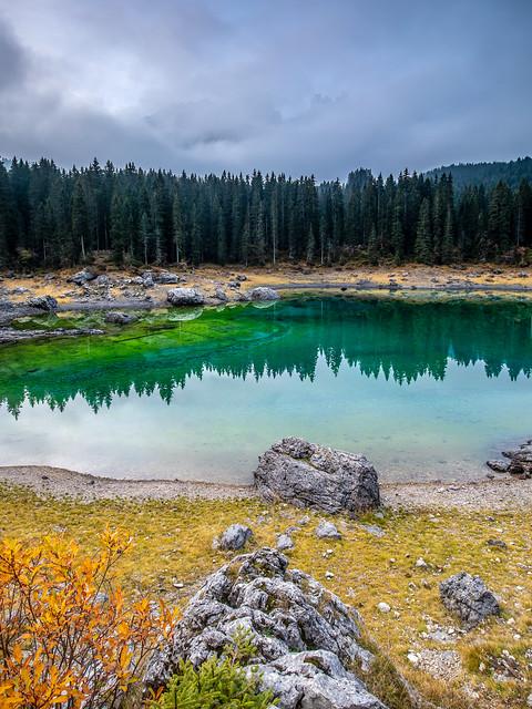 Lago Di Carezza, Italy, Dolomites