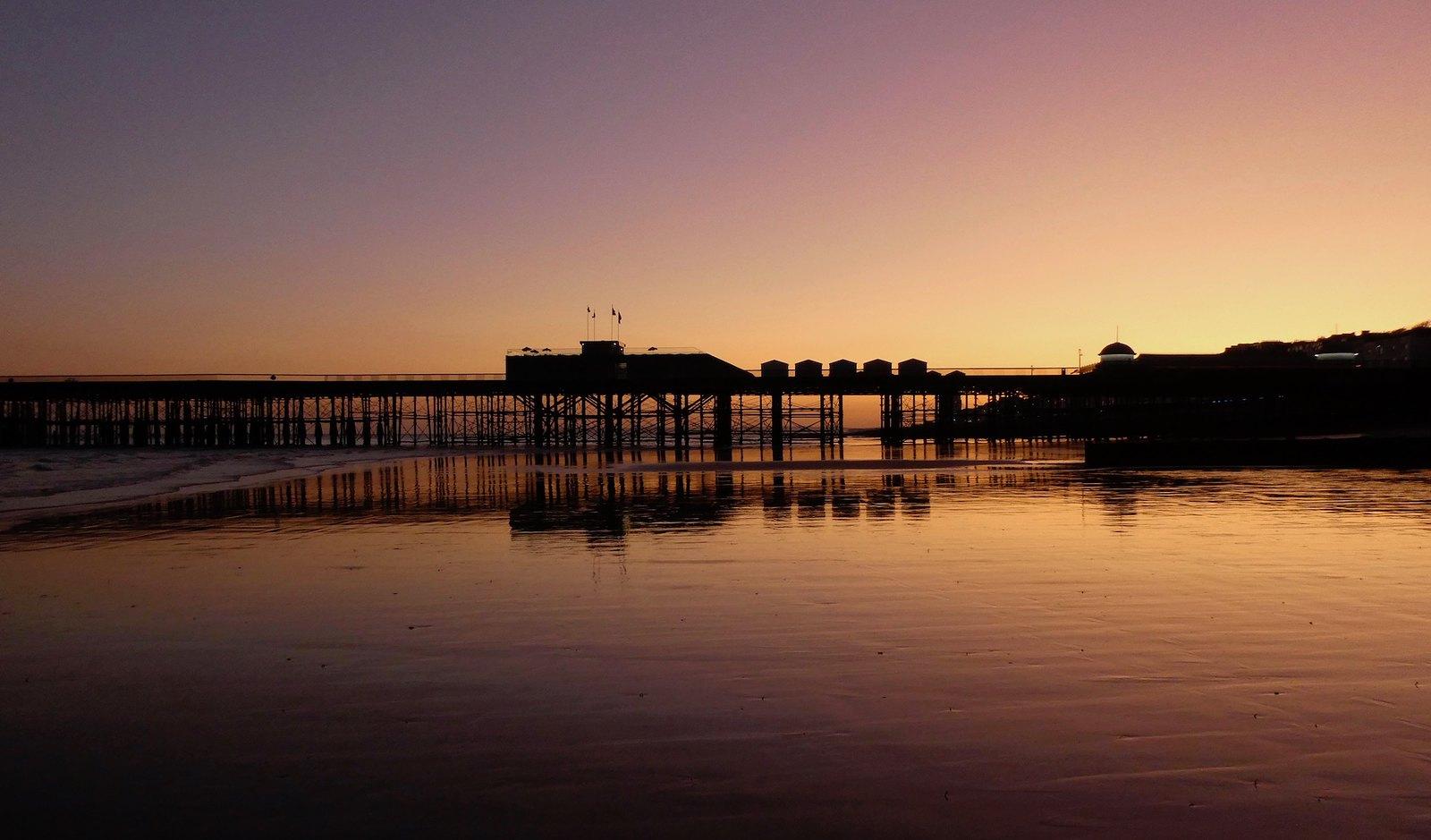 Hastings Pier sunset